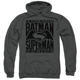 Hoodie: Batman vs. Superman- Title Fight Pullover Hoodie