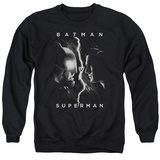 Crewneck Sweatshirt: Batman vs. Superman- Face To Face T-Shirt