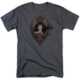 Batman vs. Superman- Wonder Woman Gothic T-Shirt