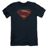 Batman vs. Superman- Super Movie Logo (Slim Fit) Shirt