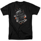 Batman vs. Superman- Fractal Bat Head T-Shirt