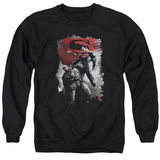 Crewneck Sweatshirt: Batman vs. Superman- Steel Grip T-shirts