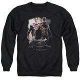 Crewneck Sweatshirt: Batman vs. Superman- Side by Side T-shirts