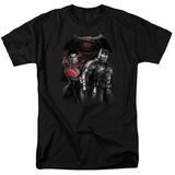 Batman vs. Superman- Stand Off T-Shirt