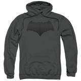 Hoodie: Batman vs. Superman- Batman Logo Pullover Hoodie