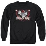 Crewneck Sweatshirt: Batman vs. Superman- This Means War Shirt