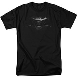 Batman vs. Superman- Black & White Logo Shirt