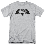 Batman vs. Superman- Black Logo T-shirts