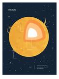 Sun Chart Art by  The Glass Mountain