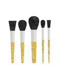 Gold Makeup Brushes Prints by  Peach & Gold