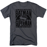 Batman vs. Superman- Title Fight T-shirts