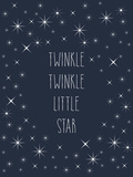 Twinkle Twinkle Posters by  Peach & Gold