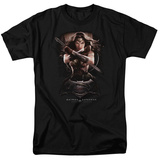 Batman vs. Superman- Wonder Woman Portrait T-shirts