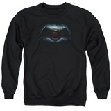 Crewneck Sweatshirt: Batman vs. Superman- Movie Logo T-shirts