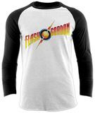 Flash Gordon- Strike Logo (Raglan) Magliette