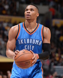 Oklahoma City Thunder v Los Angeles Lakers Photo by Andrew D Bernstein