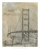 Remembering San Francisco Giclee Print by Irena Orlov