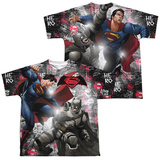 Youth: Batman vs. Superman- Showdown (Front/Back) T-Shirt