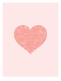 Love Hearts Swirl Print by Brett Wilson