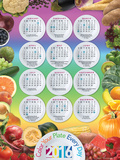 2016 Nutrition And Health Calendar Poster Posters