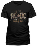 AC/DC- Rock Or Bust (Slim Fit) Skjorta