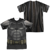 Batman vs. Superman- Batman Uniform Costume (Front/Back) T-shirts