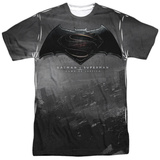 Batman vs. Superman- Logo City Shirts