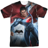 Batman vs. Superman- Backlit Superman Shirts