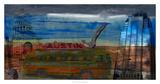 Austin Bus Giclee Print by Sisa Jasper