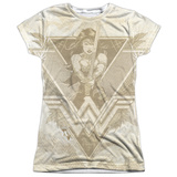 Juniors: Batman vs. Superman- Classic Wonder Woman T-Shirt