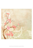 Sweet Cherry Blossoms II Posters by Evelia Designs
