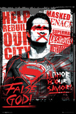 Batman vs. Superman- Superman False God Plakater