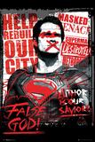 Batman vs. Superman- Superman False God Posters
