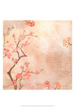 Sweet Cherry Blossoms VI Print by Evelia Designs