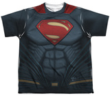 Youth: Batman vs. Superman- Superman Uniform Costume T-shirts