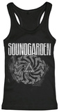 Juniors Tank Top: Soundgarden- Bad Motor Finger T-Shirt