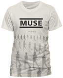 Muse- Drones (Slim Fit) T-Shirt