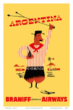Argentina - Argentinian Gaucho Poster by  Pacifica Island Art