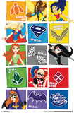 DC Super Hero Girls - Grid Posters