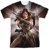 Batman vs. Superman- Backlit Wonder Woman T-shirts