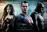Batman vs. Superman- City Plakat