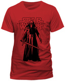 Star Wars The Force Awakens- Kylo Ren Menacing (Slim Fit) T-Shirt