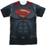Batman vs. Superman- Superman Uniform Costume Shirts