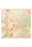 Sweet Cherry Blossoms I Art by Evelia Designs