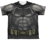 Youth: Batman vs. Superman- Batman Uniform Costume Shirts