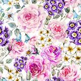 Raster Floral Pattern Print by  Zenina