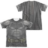 Batman vs. Superman- Batman Uniform Costume (Front/Back) Shirts