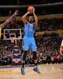 Oklahoma City Thunder v Los Angeles Lakers Photo by Andrew D Bernstein