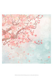 Sweet Cherry Blossoms III Prints by Evelia Designs