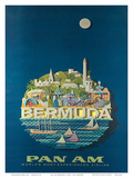 Bermuda - Pan American Airlines Posters by Ray Ameijide